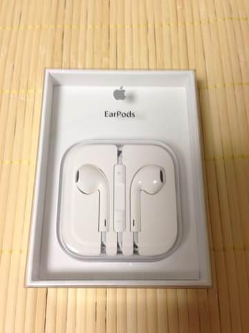 【イヤホン】iPhone5付属の「EarPods」を買ってみた。