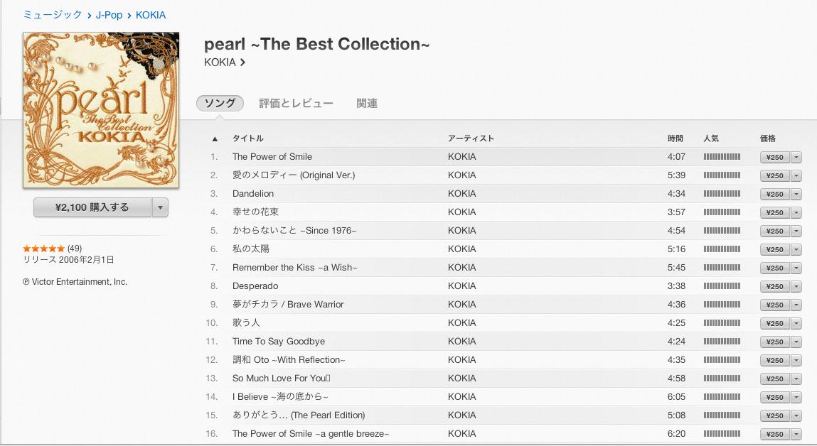[iTunes]iTunes Storeで購入した曲は消しちゃダメだったみたい・・・orz