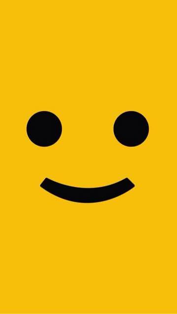 iPhoneの壁紙を変えたらいつも笑顔になったよ!