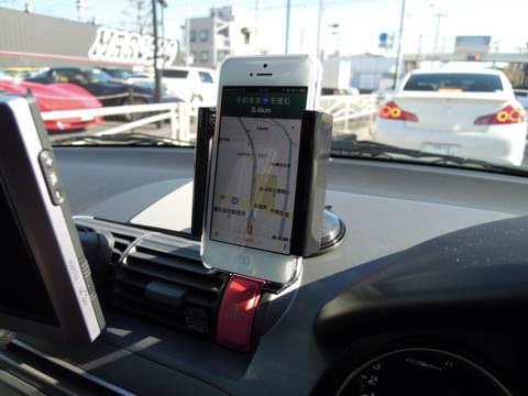 [GoogleMAP]車でナビを試してみた!