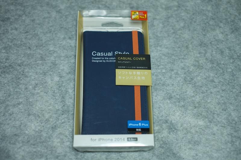 [iPhone6 Plus]が届いたので手帳型カバー2種類とフィルムを買ってみたよっ!