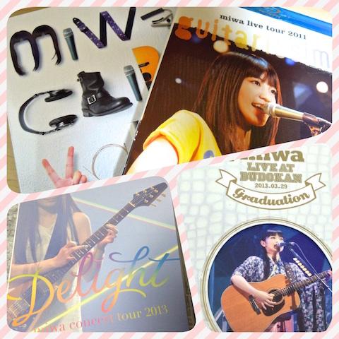 [music]miwaさんの武道館弾き語りソロライブに行くことにしたよっ