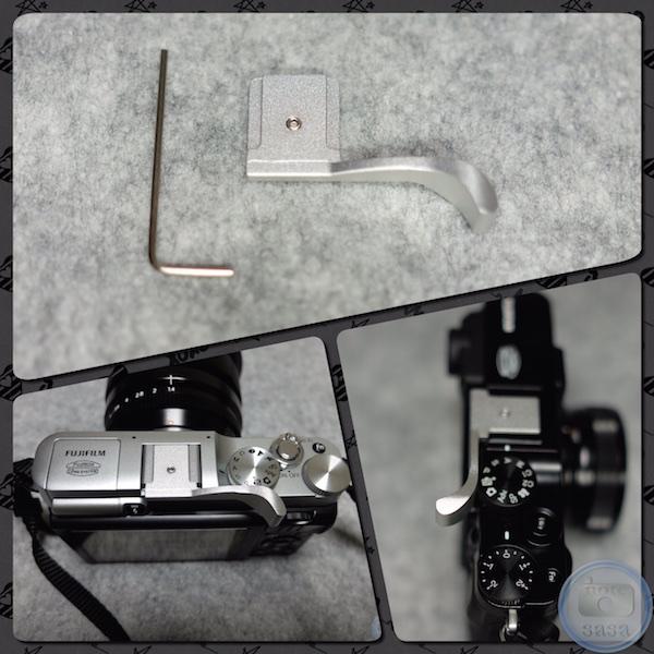 [カメラ]ホットシューに付ける「サムレスト」を買ってみたよっ!