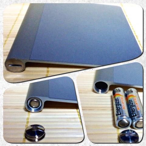 [Mac]Magic Trackpadの電池は単三電池2本だったっ