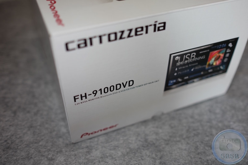 [車]カーオーディオのcarrozzeria「FH-9100DVD」を買ったよっ!