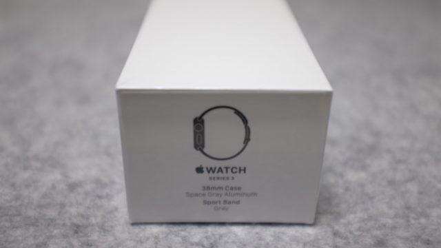 [Apple]初めてApple Watch(series3)を買って思ったこと。