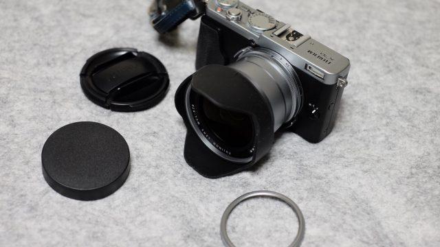 [写真]FUJIFILM X70用ワイコン(WCL−X70)を買ってみた話。