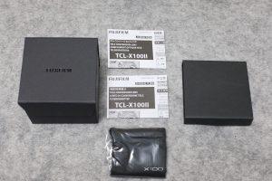 TCL-X100Ⅱ 箱 取説