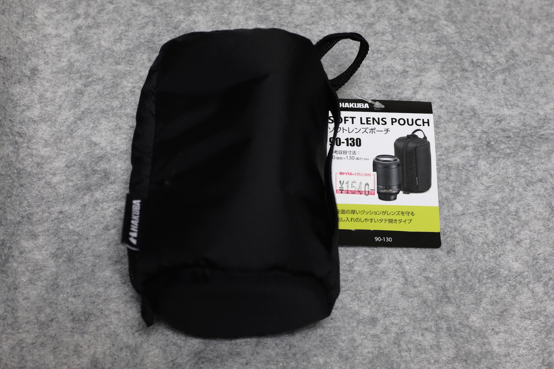 [写真]X70とX100F用のコンバージョンレンズを入れる「レンズポーチ」を買った話。