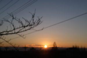 日の出2018/01/13