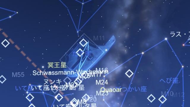 星座表∞ 天の川