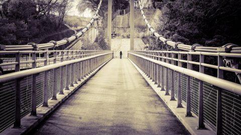 [写真日記]橋とか坂とか灯籠とか