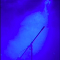 MBAで表示した青い写真のスクリーンショット
