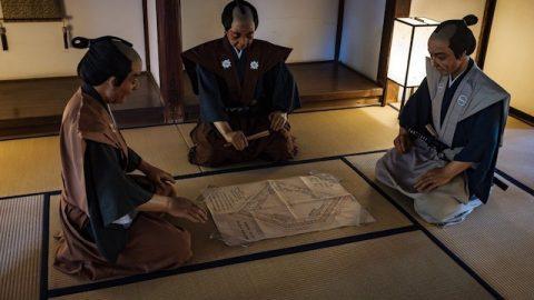 川越本丸御殿の和室
