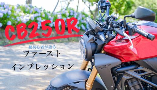 [バイク]ホンダCB250R納車しました♬*゚